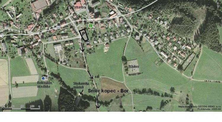 Mapka místní