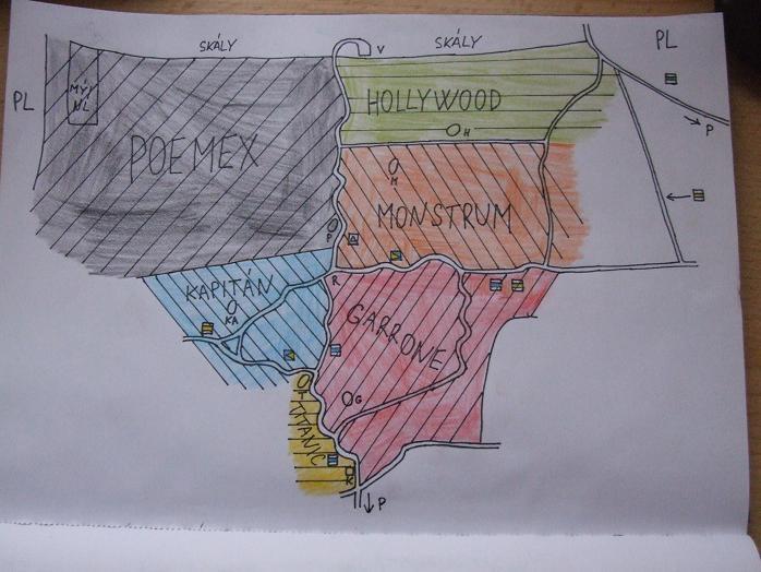 Celková mapka