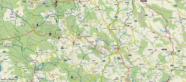 Mapa - Vysočina
